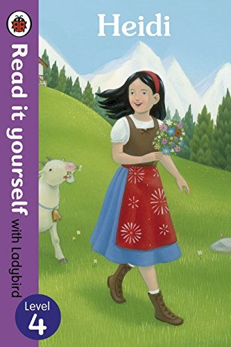 9780723273257: Read It Yourself Heidi (Read It Yourself with Ladybird. Level 4. Book Band 9)