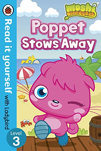 9780723273592: Moshi Monsters: Poppet Stows Away - Read it yourself with Ladybird: Level 3