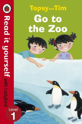 9780723273721: Topsy And Tim Go To The Zoo. Read it to youself. Level 1 (Read It Yourself)