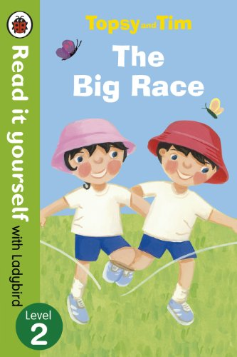 9780723273851: Topsy and Tim: The Big Race - Read it yourself with Ladybird: Level 2