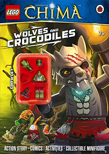 9780723275619: LEGO Legends of Chima: Wolves and Crocodiles Activity Book with Minifigure