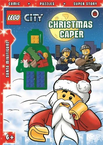 9780723278085: LEGO CITY: Christmas Caper Activity Book with Minifigure