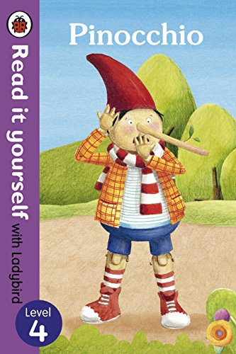 9780723280736: Read It Yourself with Ladybird Pinocchio (mini Hc): Level 4