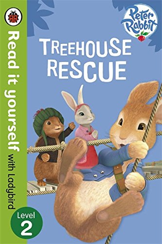 9780723280910: Read It Yourself with Ladybird Peter Rabbit Treehouse Rescue