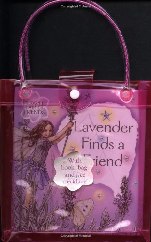 Lavender Finds a Friend: book, bag, and necklace (Flower Fairies): Barker, Cicely Mary