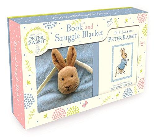 Peter Rabbit Book and Snuggle Blanket (Book & Merchandise): Beatrix Potter