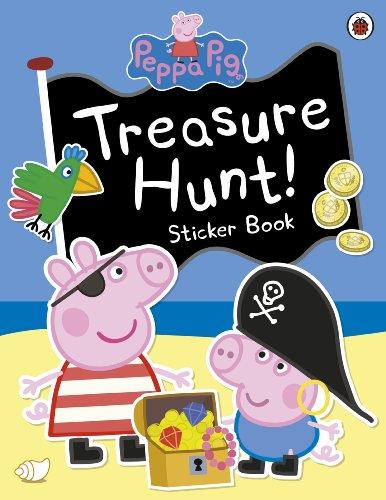 9780723288602: Peppa Pig: Treasure Hunt! Sticker Book