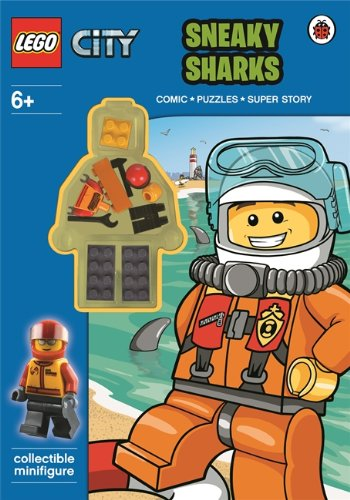 9780723291077: LEGO City: Sneaky Sharks Activity Book with Minifigure
