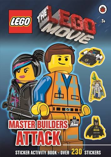 9780723291091: The Lego Movie: Master Builders Attack Sticker Book