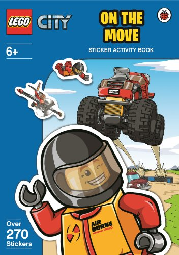 9780723291244: LEGO City: On The Move Sticker Activity Book