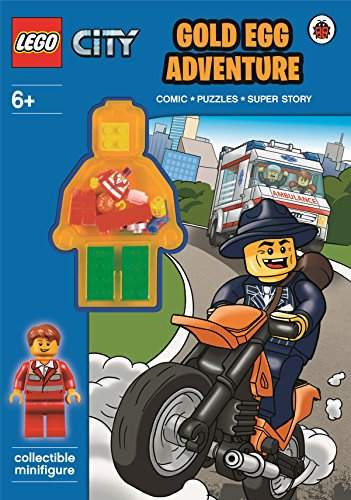 9780723291251: LEGO City: Gold Egg Adventure Activity Book with Minifigure