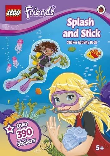 9780723291305: LEGO Friends: Splash & Stick Sticker Activity Book