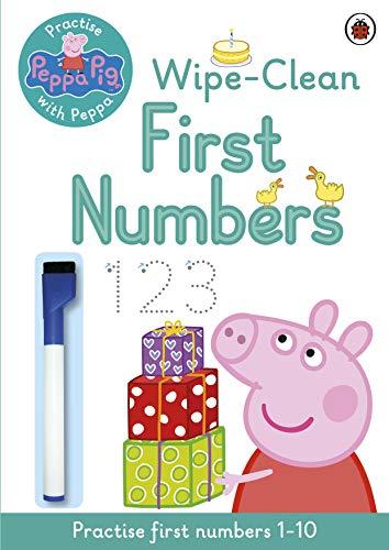 9780723292111: Peppa Pig: Practise with Peppa: Wipe-Clean Numbers