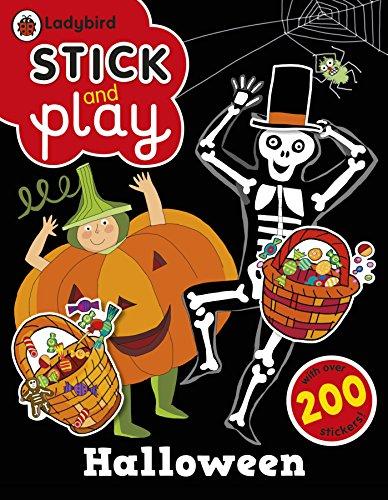 9780723292647: Halloween: A Ladybird Stick and Play sticker book