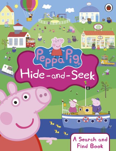 9780723293125: Peppa Pig: Hide-and-Seek: A Search and Find Book