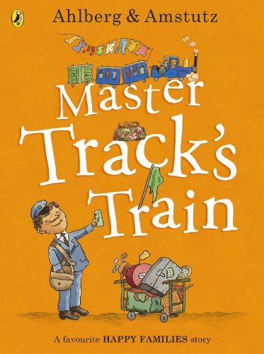 9780723293934: Master Track's Train (Happy Families)