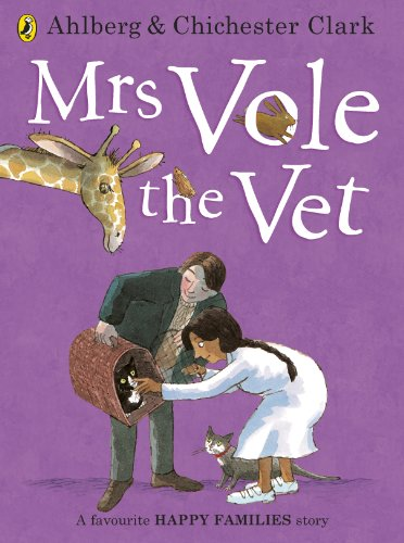 9780723293941: Mrs Vole the Vet (Happy Families)