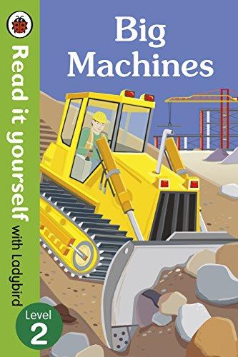 9780723295099: Read It Yourself with Ladybird Big Machines (mini Hc): Level 2
