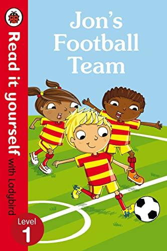 9780723295181: Read It Yourself with Ladybird Jon's Football Team (mini Hc): Level 1