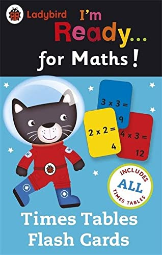 9780723295655: Ladybird I'm Ready for Maths: Times Tables flash cards