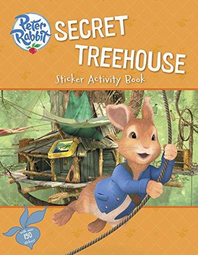 9780723295952: Secret Treehouse Sticker Activity Book (Peter Rabbit Animation)