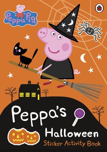 9780723296225: Peppa Pig: Peppa's Halloween Sticker Activity Book