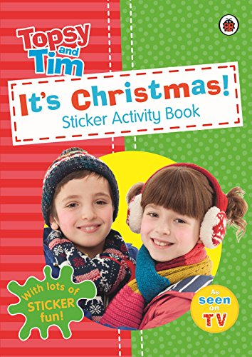 9780723296256: It's Christmas!: A Ladybird Topsy And Tim Sticker Activity Book