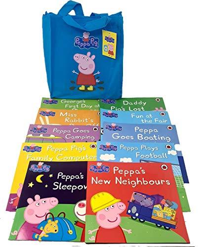 9780723296768: Peppa Pig: (BLUE) Storybook Bag x 10