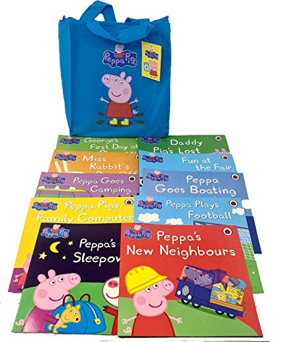 9780723296768: Peppa Pig: (BLUE) Storybook Bag x 10