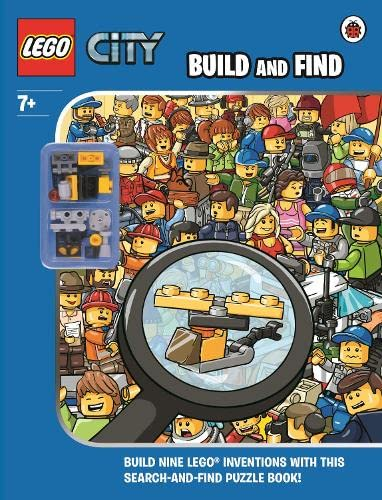 9780723297741: LEGO CITY: Build and Find with Minifigure