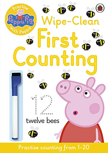 9780723297765: Peppa Pig: Practise with Peppa: Wipe-Clean Counting