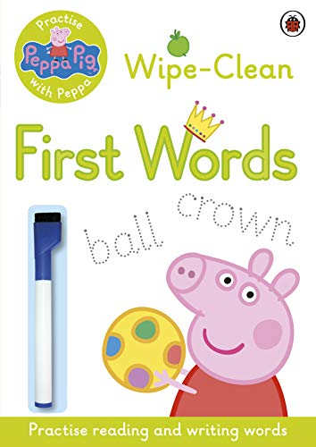 9780723297789: Peppa Pig: Practise with Peppa - Wipe-Clean First Words