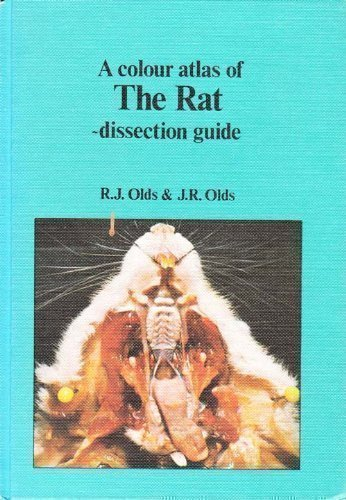 9780723407324: Colour Atlas of the Rat Dissection G (Wolfe medical atlases)