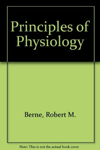 9780723416456: Principles Of Physiology