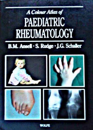 9780723416586: Color Atlas of Pediatric Rheumatology