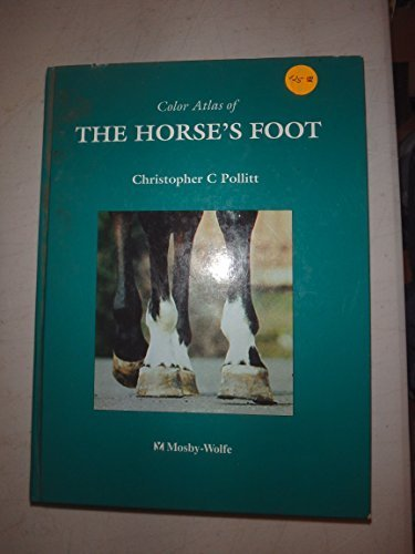 9780723417651: Color Atlas of the Horse's Foot