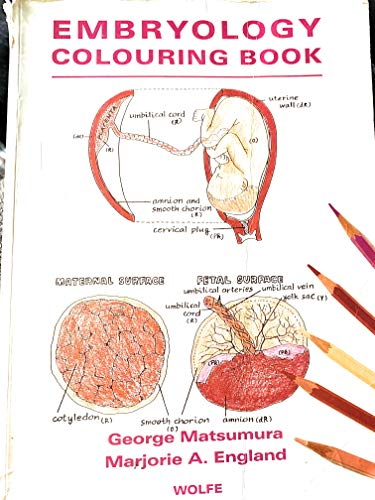 9780723418832: Embryology Coloring Book