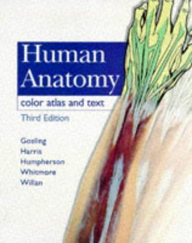 9780723426578: Human Anatomy: Color Atlas and Text