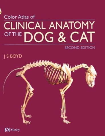 9780723431695 Colour Atlas Of Clinical Anatomy Of The Dog And Cat