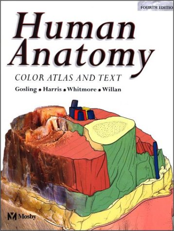 9780723431954: Human Anatomy: Color Atlas and Text