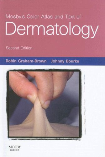 9780723433644: Mosby's Color Atlas and Text of Dermatology