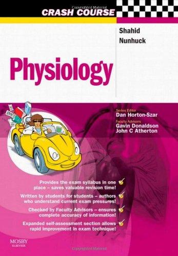 9780723433880: Crash Course: Physiology