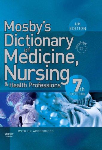 9780723433934: Mosby's Dictionary of Medicine, Nursing & Health Professions: UK Edition
