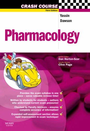 9780723434160: Pharmacology (Crash Course - UK)