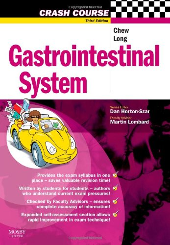 9780723434207: Crash Course: Gastrointestinal System (Mosby's Crash Course Series)
