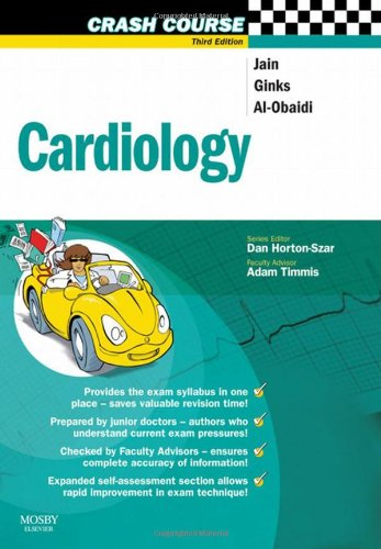 9780723434641: Crash Course:  Cardiology, 3e