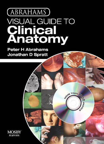 9780723435723: Abrahams Visual Guide to Clinical Anatomy DVD, 1e