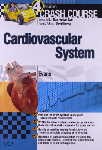 9780723436287: Crash Course Cardiovascular System, 4e