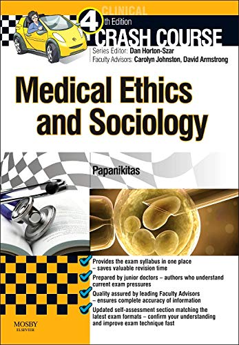 9780723436348: Crash Course Medical Ethics and Sociology, 2e