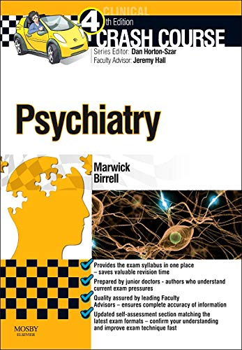 9780723436362: Crash Course Psychiatry, 4e